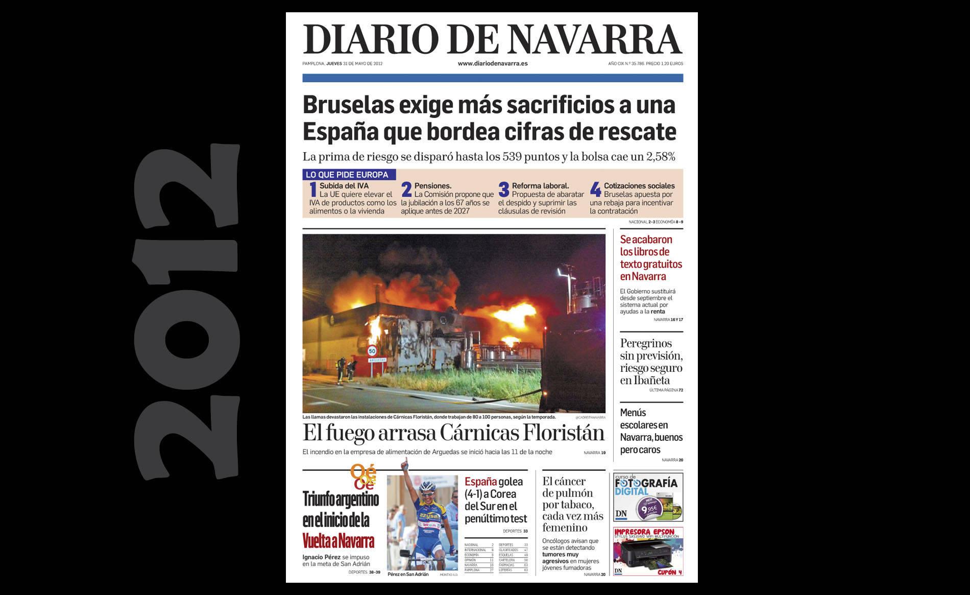 Hemeroteca visual del 30 de mayo (1/12) - Las imágenes del día de hace 5, 10 y 20 años. - Navarra -