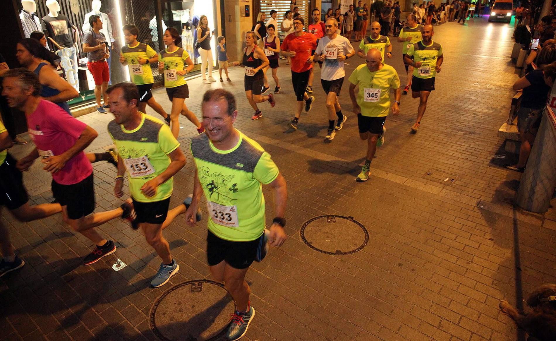 V Carrera Nocturna Ciudad de Tudela (1/29) - Boulame y Malón Se coronaron como los mejores de Navarra en los 10 km de Tudela. - Carreras populares DNRunning -