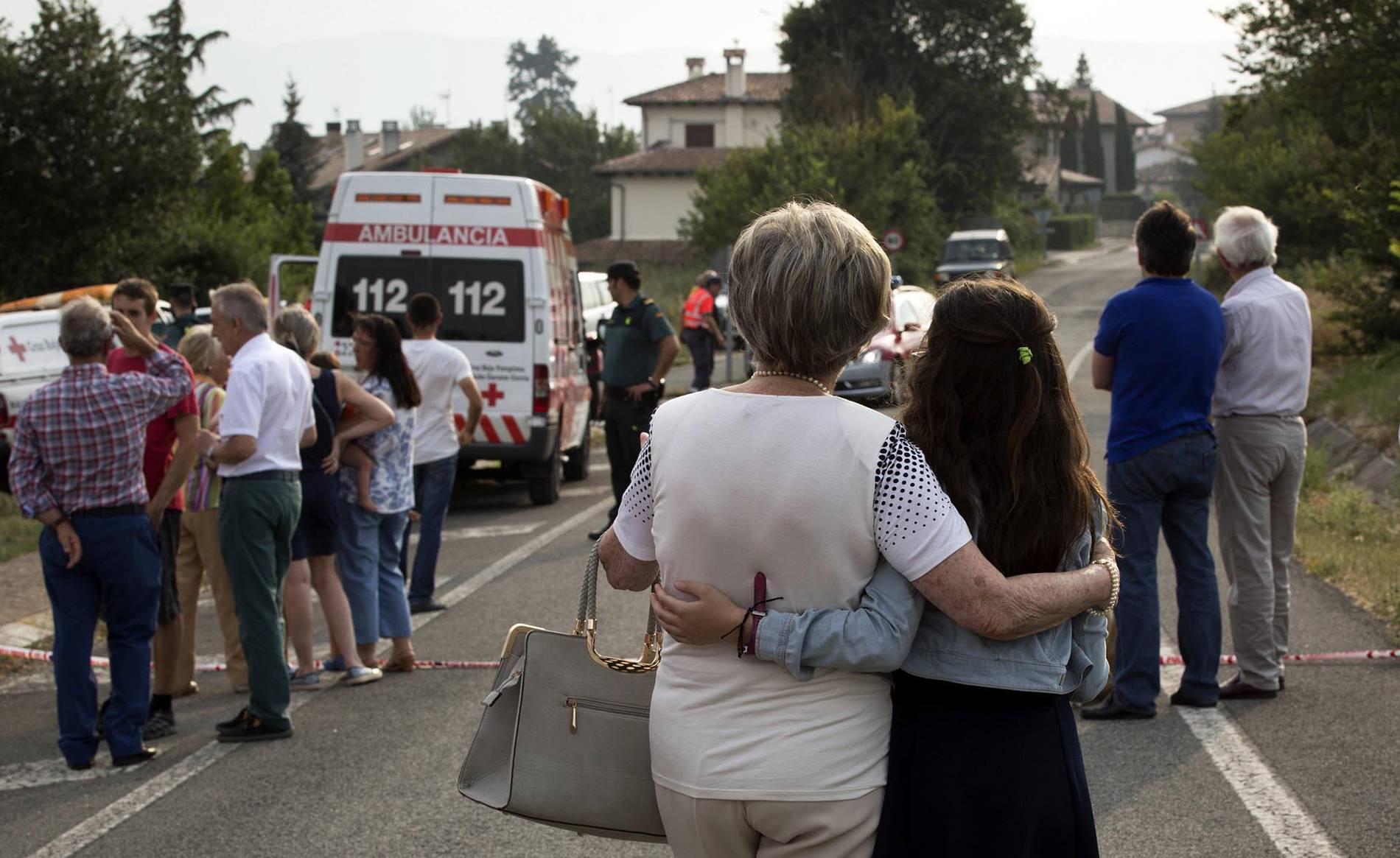 Incendios en Esparza de Galar, Arazuri y Artajona (1/60) - Un incendio se ha registrado este jueves en Esparza de Galar. Un segundo foco ha afectado a Arazuri y un tercero a Artajona. - Navarra -