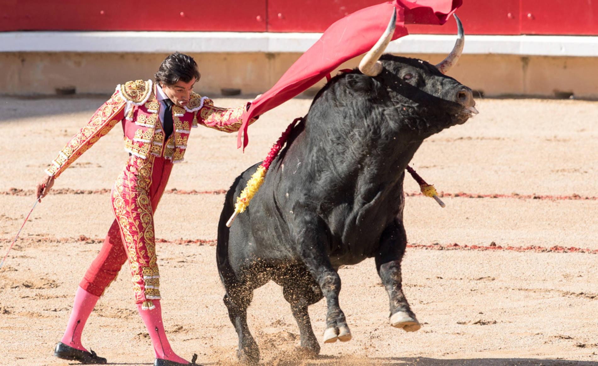 Corrida del día 9 (1/56) - Ambiente en la plaza de toros en la tercera corrida de los Sanfermines 2017. - San Fermín -
