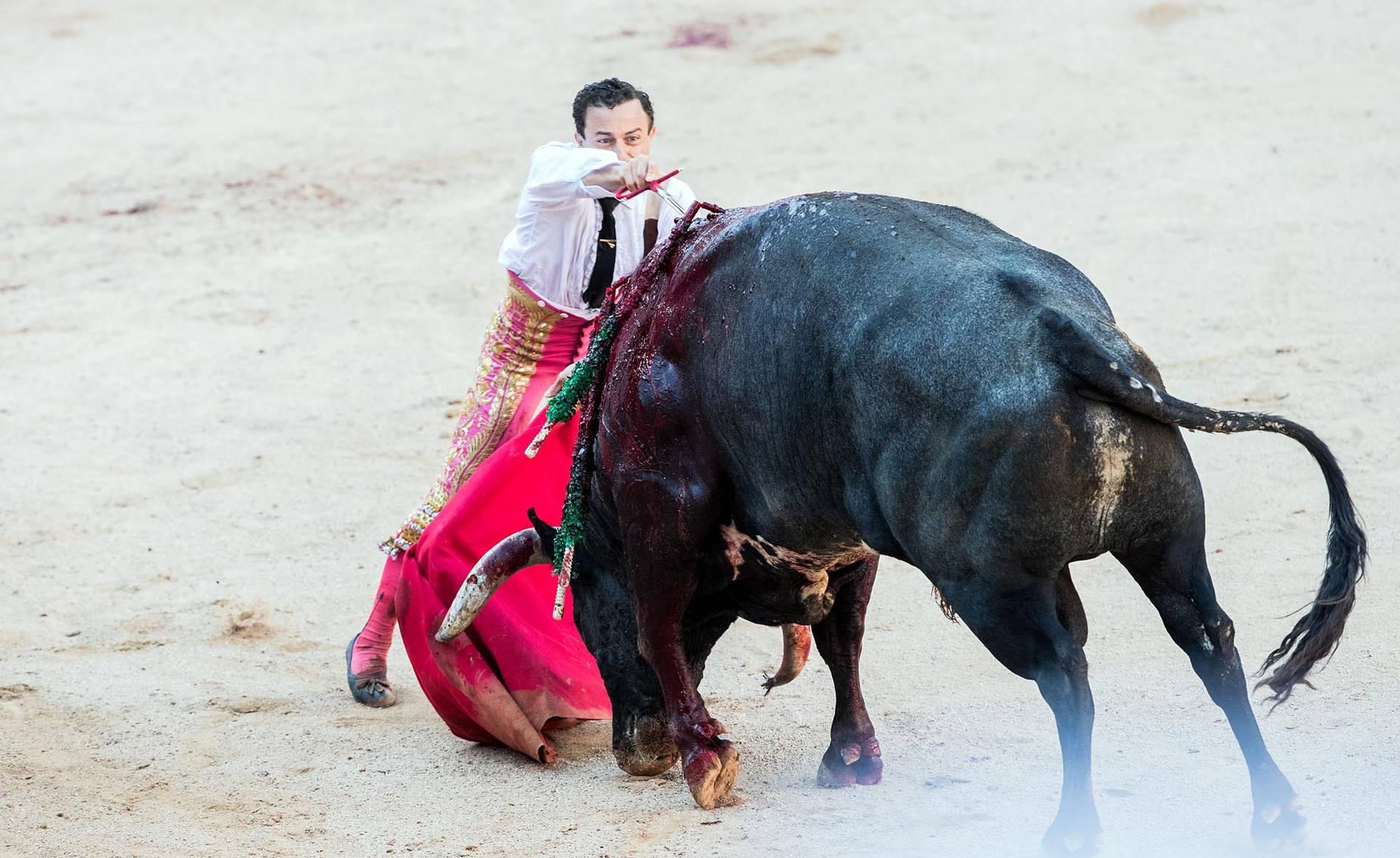 Corrida de toros del día 14 (1/46) - Imágenes de la corrida de toros del día 14 con la ganadería Miura - San Fermín -