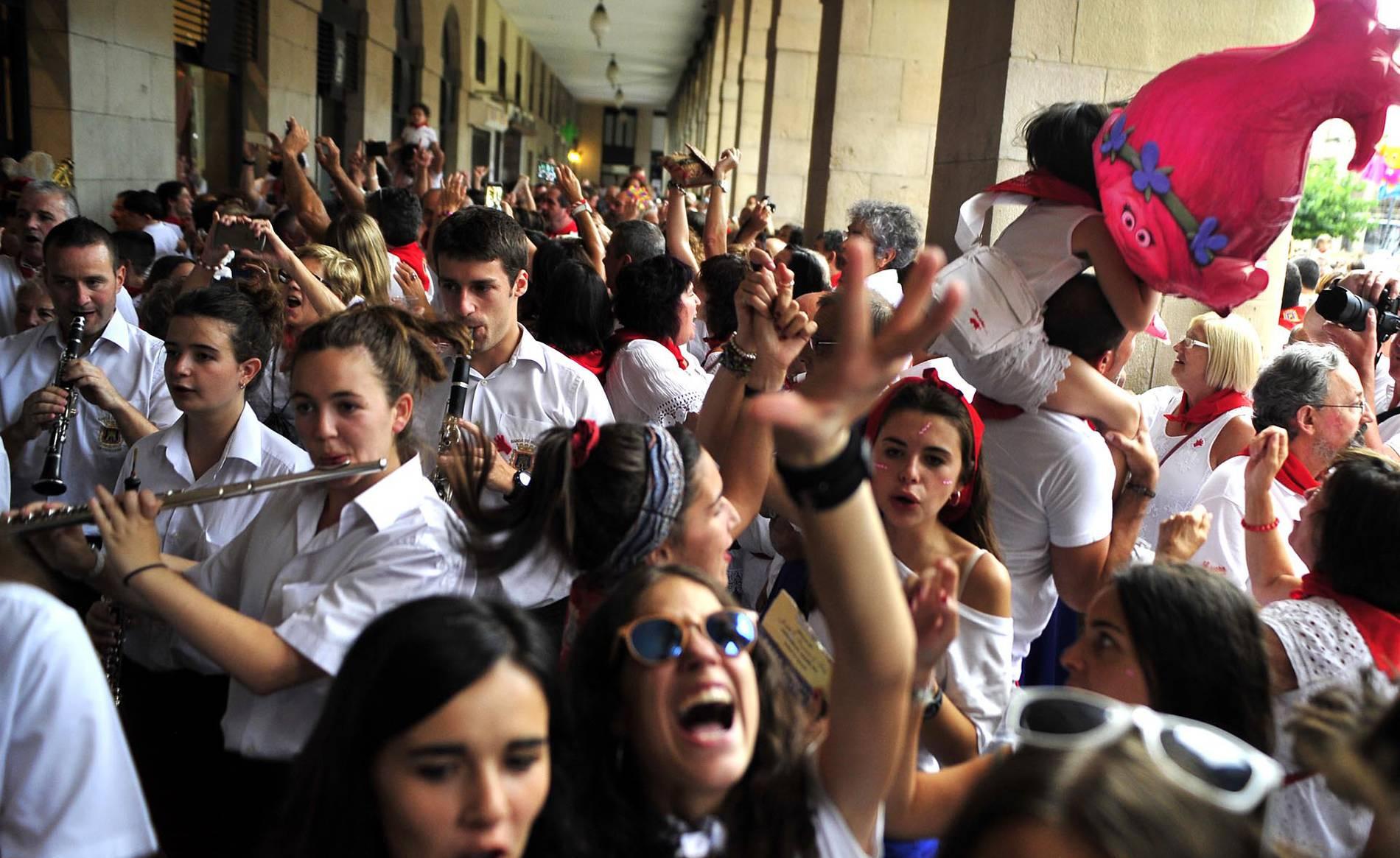 La Salve en fiestas de Tafalla (1/18) - Fiestas de Tafalla 2017 - Contenidos -