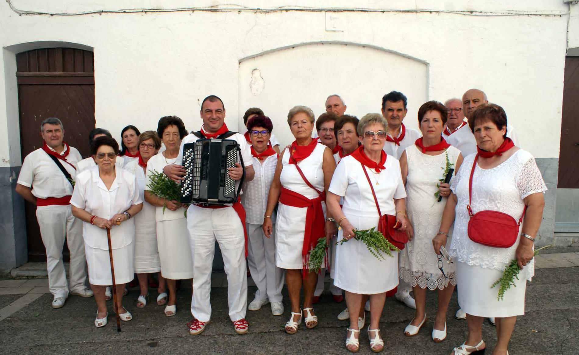 Procesión en las fiestas de Monteagudo (1/8) - Imágenes de la procesión de San Roque. - Tudela y Ribera -
