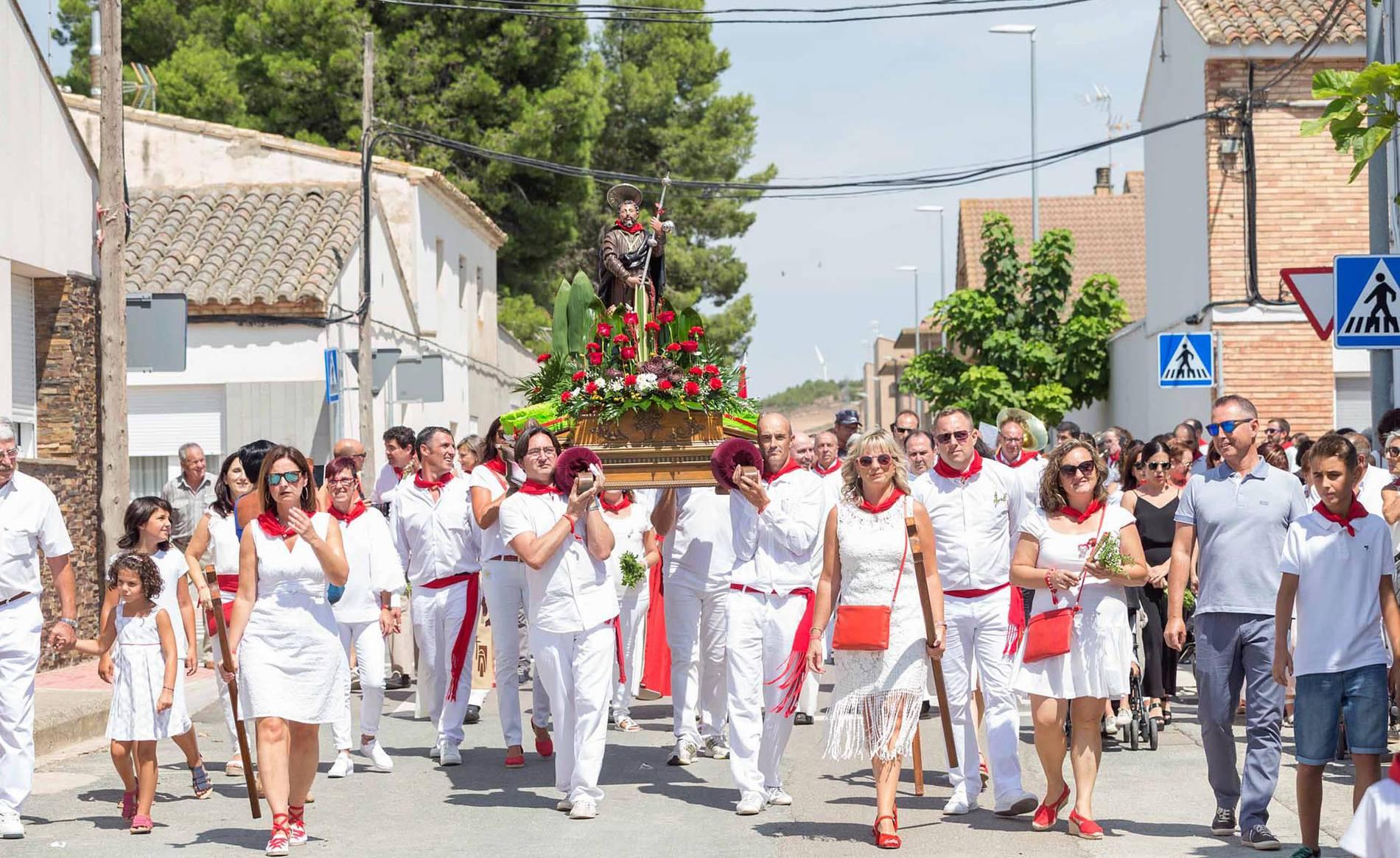 Cabanillas celebra su día grande de las fiestas (1/23) - Imágenes del día grande de las fiestas de Cabanillas - Tudela y Ribera -