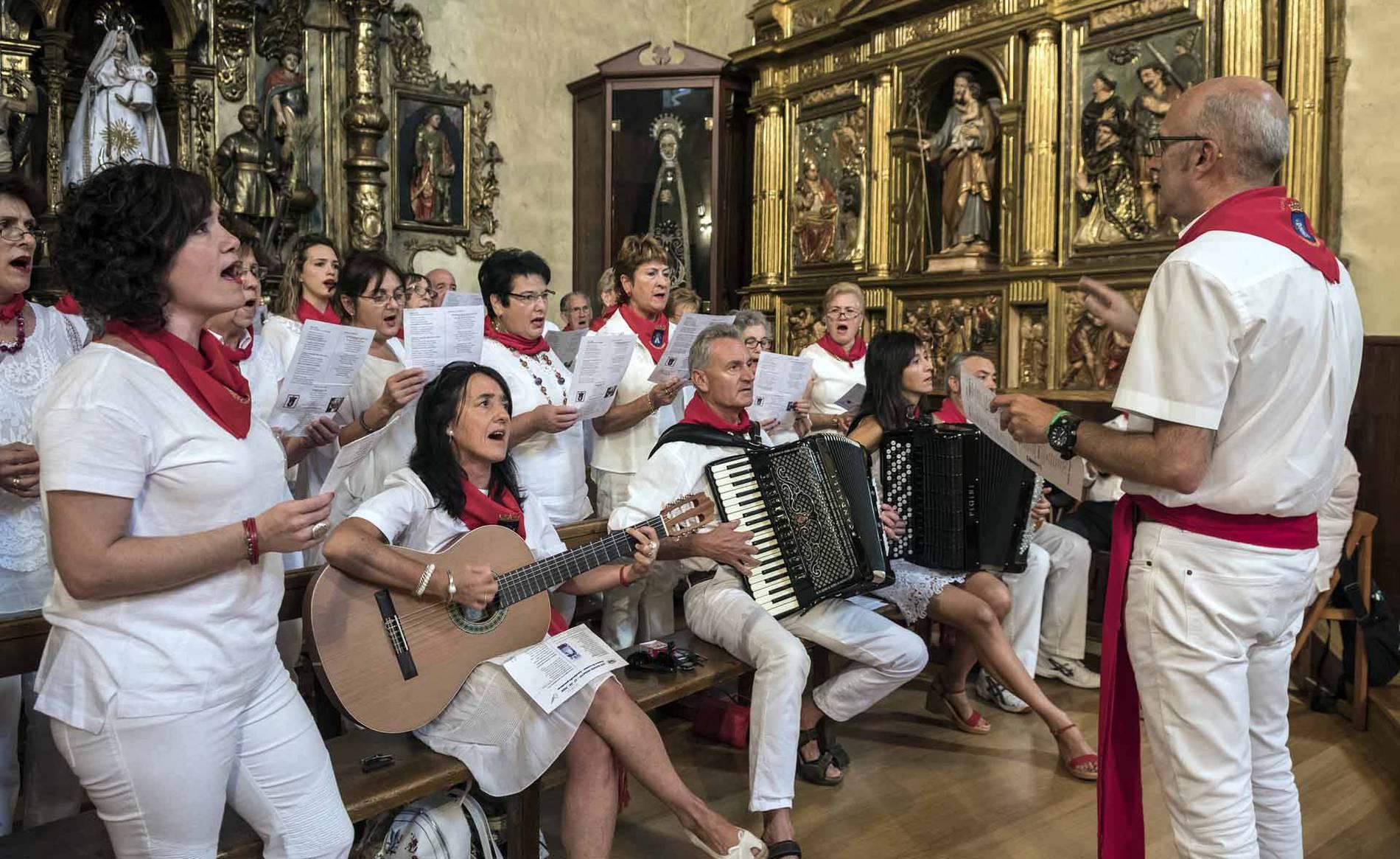 Día de San Ramón de las fiestas de Lumbier. (1/18) - Imágenes del día del patrón de las fiestas de Lumbier. - Sangüesa y Merindad -