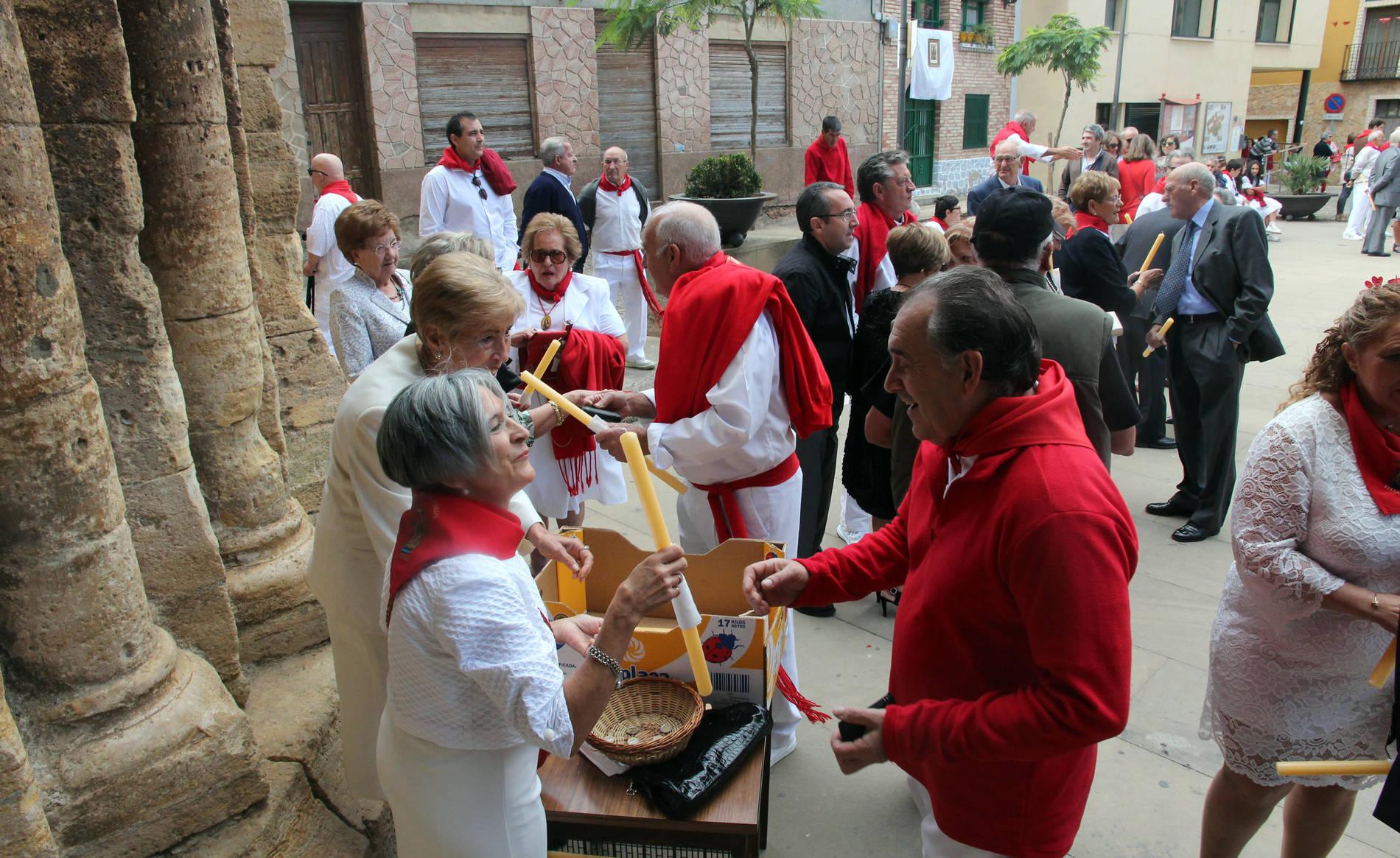 Procesión de la Virgen de la Barda en las fiestas de Fitero 2017 (1/12) - Fotos de la procesión de la Virgen de la Barda en fiestas de Fitero 2017. - Contenidos -
