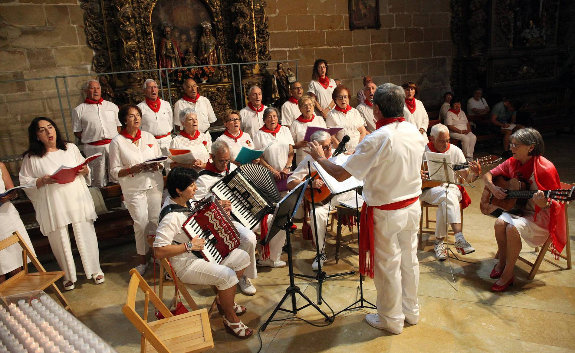 Cintruénigo celebra el día de sus mayores (1/9) - El día de los mayores en fiestas de Cintruénigo 2017 - Tudela y Ribera -