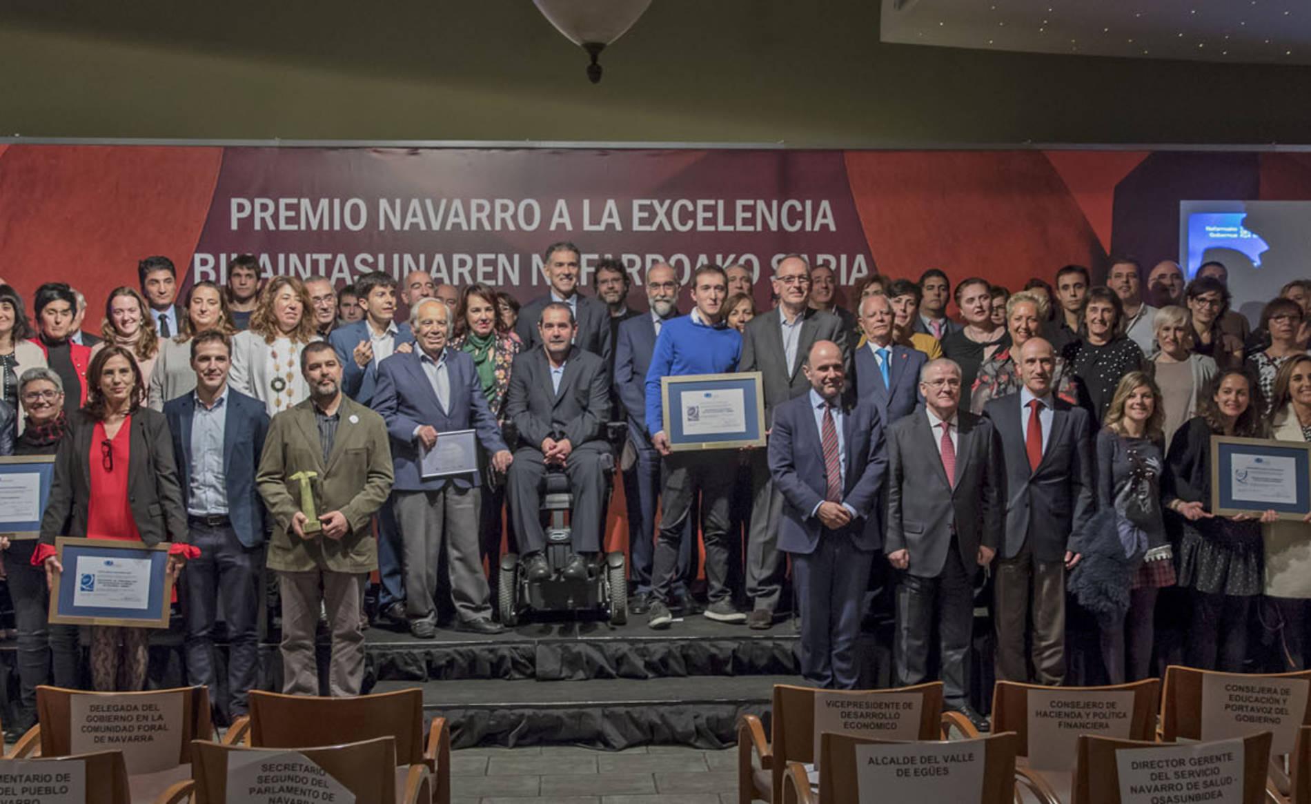 Premios a la Excelencia 2017 (1/55) - Acto de entrega de los Premios a la Excelencia que otorga la Fundación Navarra para la Excelencia. - DN Management -