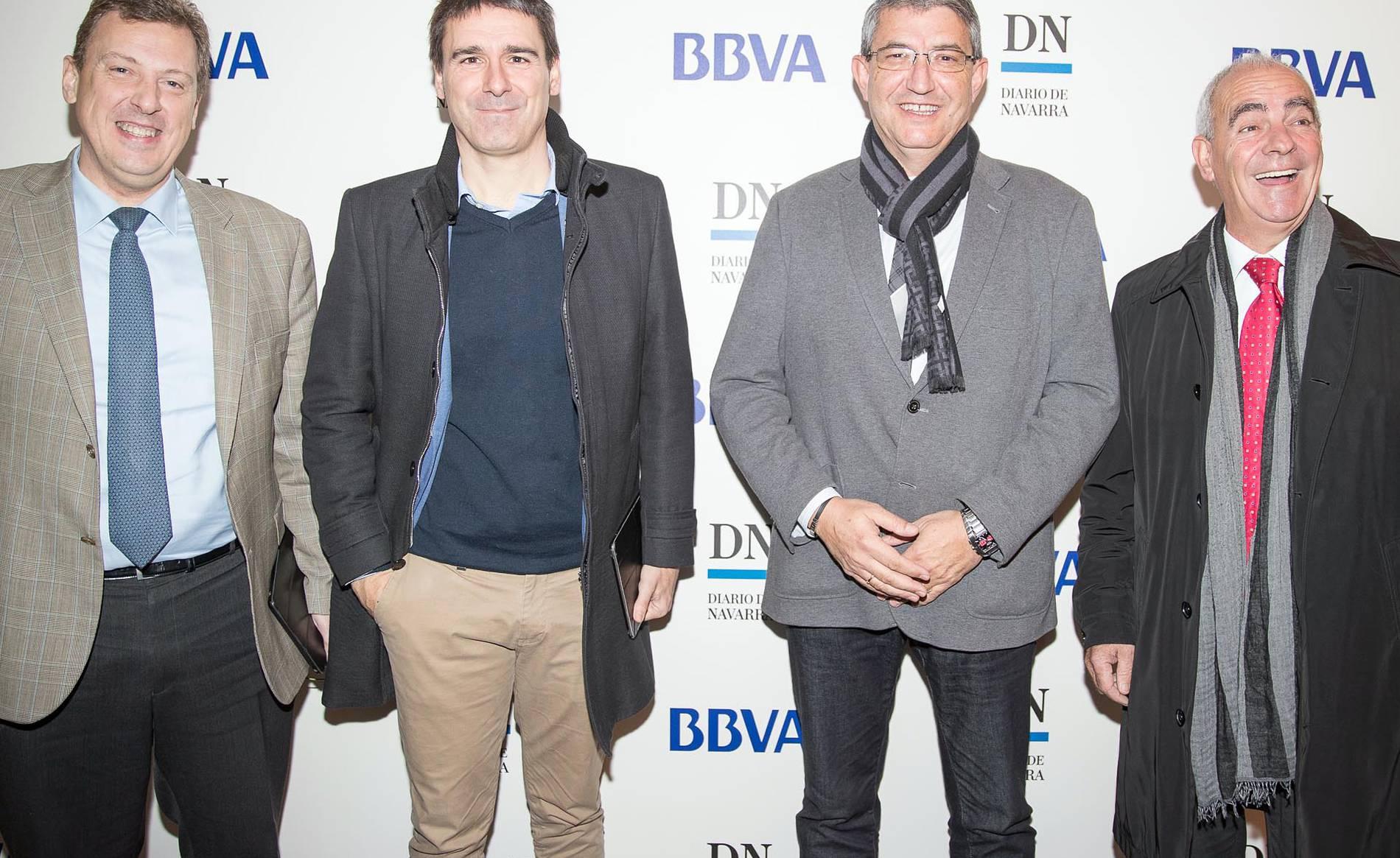 Desayuno BBVA - DN 4 (1/27) - Jornada organizada por Diario de Navarra y BBVA para abordar las perspectivas económicas y los retos de la revolución industrial 4.0, en la que participaron 140 profesionales del mundo empresarial navarro. - DN Management -