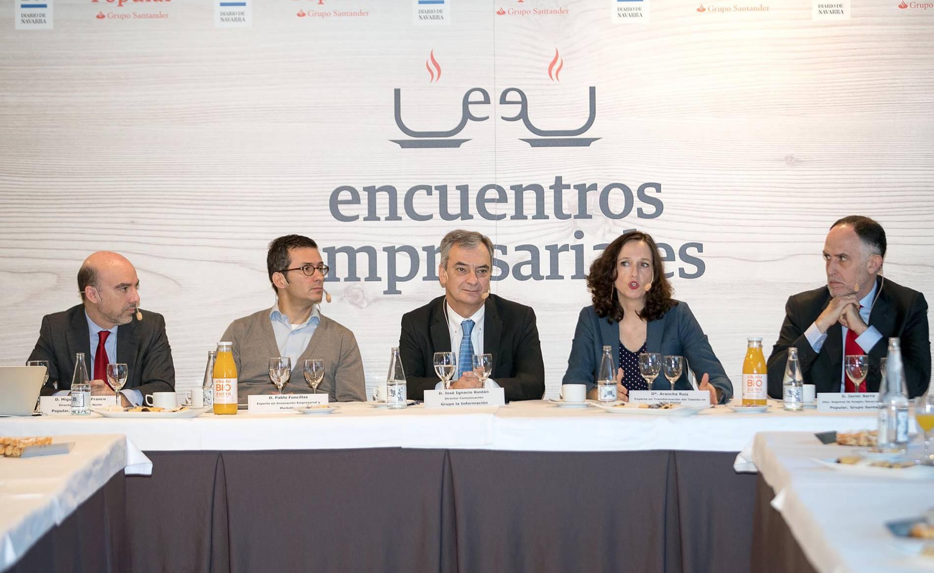Encuentro empresarial Popular-DN 1 (1/18) - Varias decenas de directivos y empresarios asistieron a la jornada organizada por Popular y Diario de Navarra - DN Management -