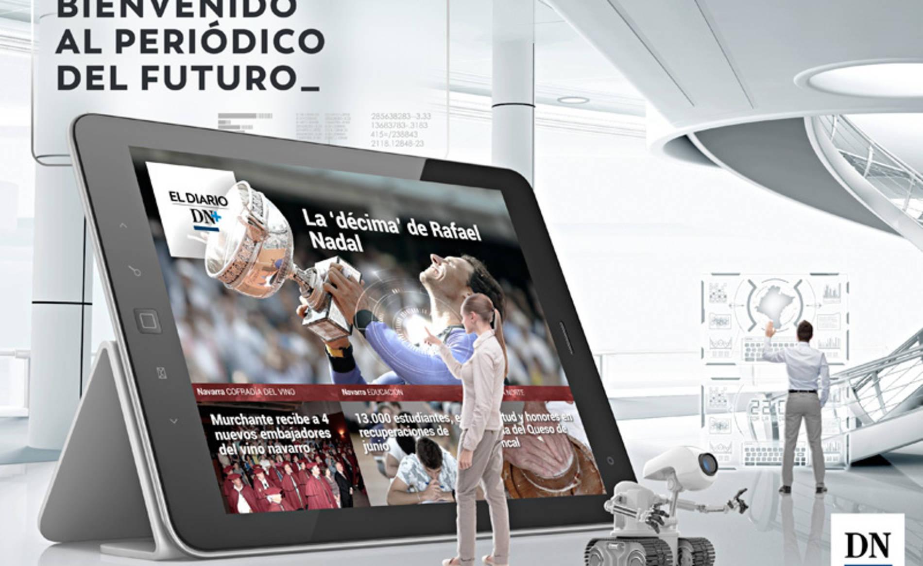 La bajada del paro en Navarra, en el Diario DN+ (1/8) - Además, llegan las semifinales del Interescolar - Destacados -