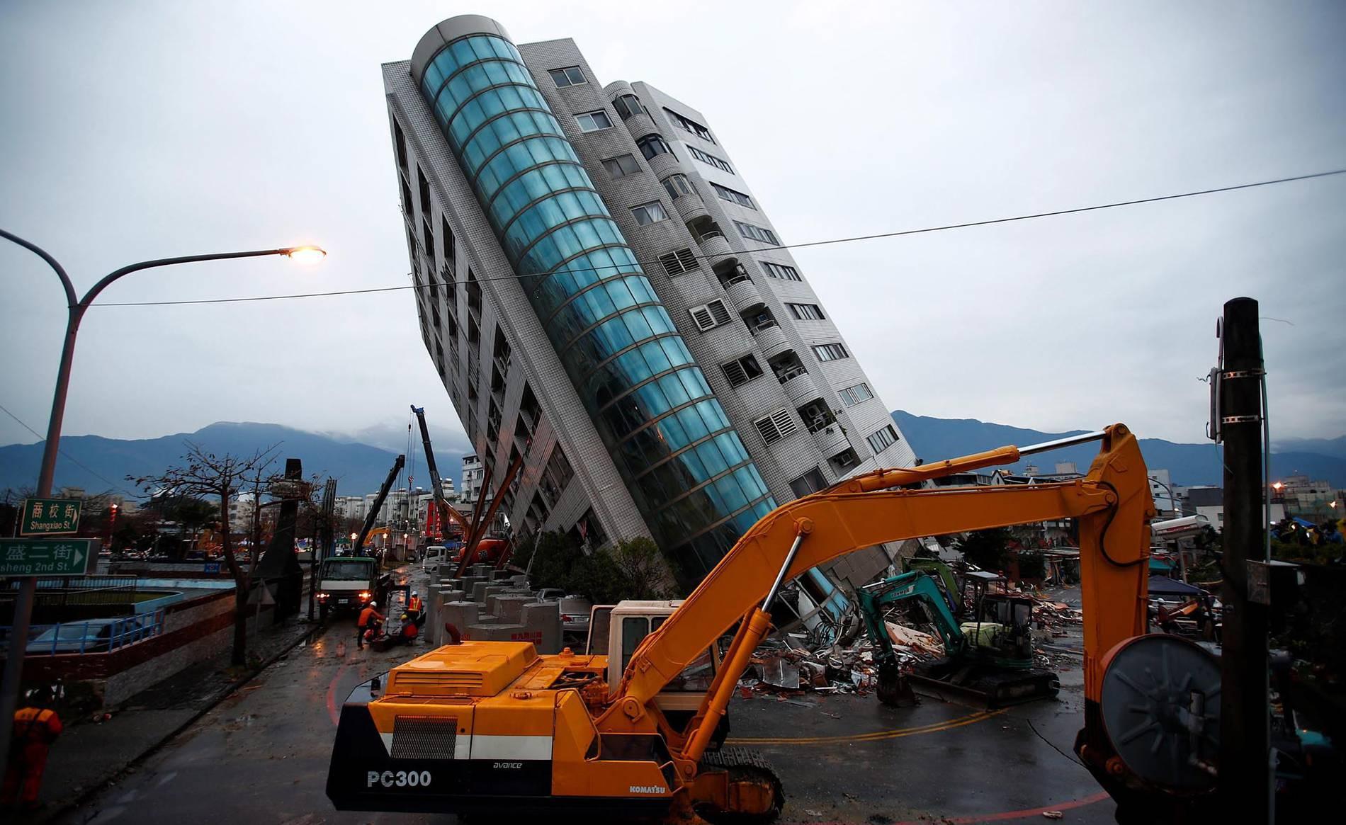 Terremoto de 6,4 en Taiwan (1/21) - Al menos siete personas han muerto y 258 han resultado heridas como consecuencia del potente terremoto que el martes sacudió la parte noreste de Taiwán, donde las autoridades se afanan ahora en localizar a los 76 ciudadanos que siguen desaparecidos. - Internacional -
