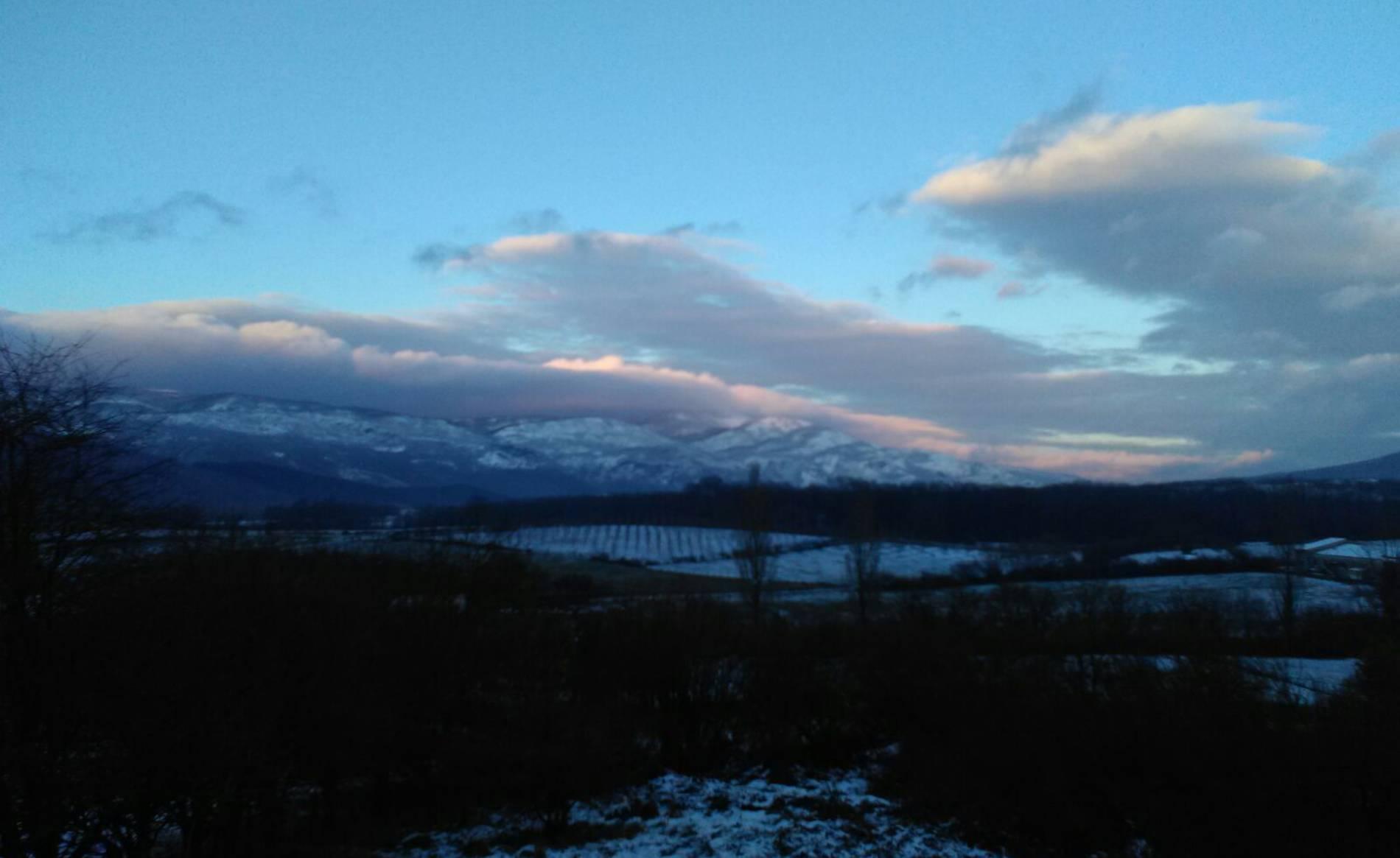 Fotos de la nieve enviadas por los lectores (1/16) - Imágenes de la nevada que ha caído en la madrugada de este jueves, 8 de febrero en Navarra. - Navarra -