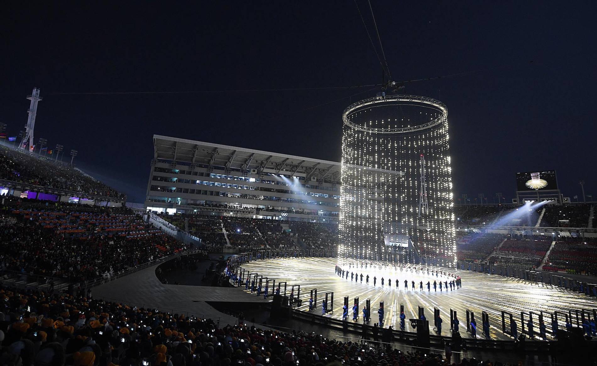 Ceremonia de Apertura de los Juegos Olímpicos de Invierno de Pyeongchang (1/45) - Imágenes de la Ceremonia de Apertura de los Juegos Olímpicos de Invierno de Pyeongchang - Deportes -