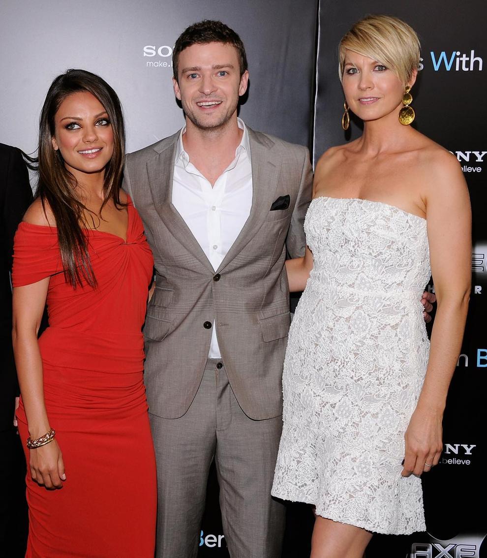 Justin Timberlake y Mila Kunis, amistad Con derecho a