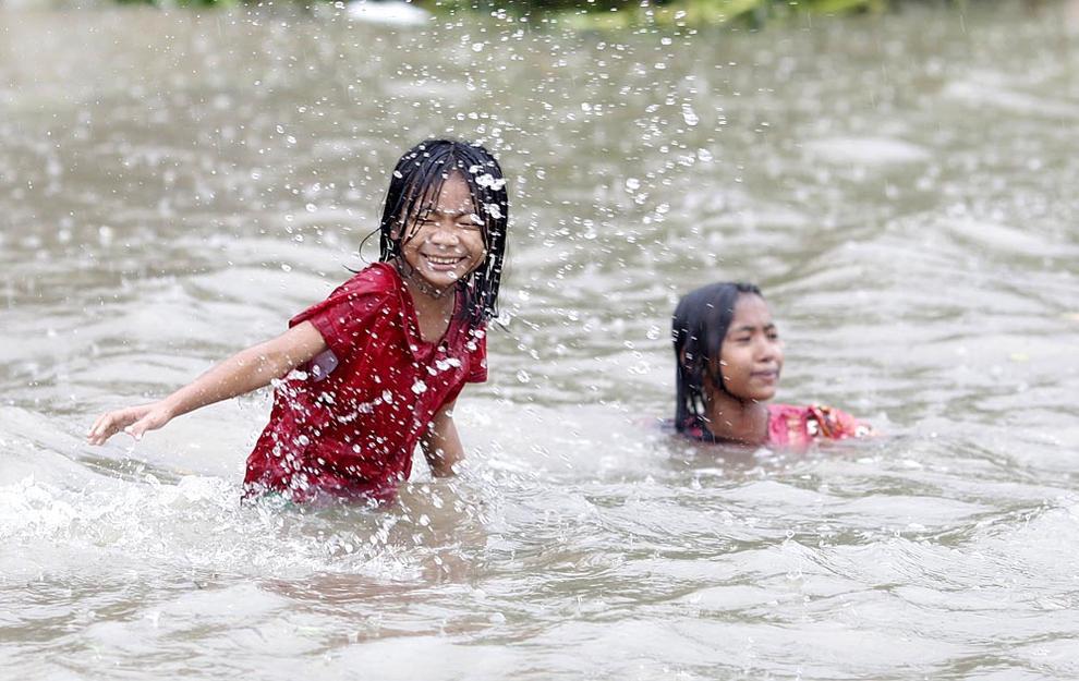 Inundaciones en Myanmar (Birmania) (1/4) - Imágenes de las inundaciones en la ciudad de Bago en Myanmar (Birmania) - Internacional -