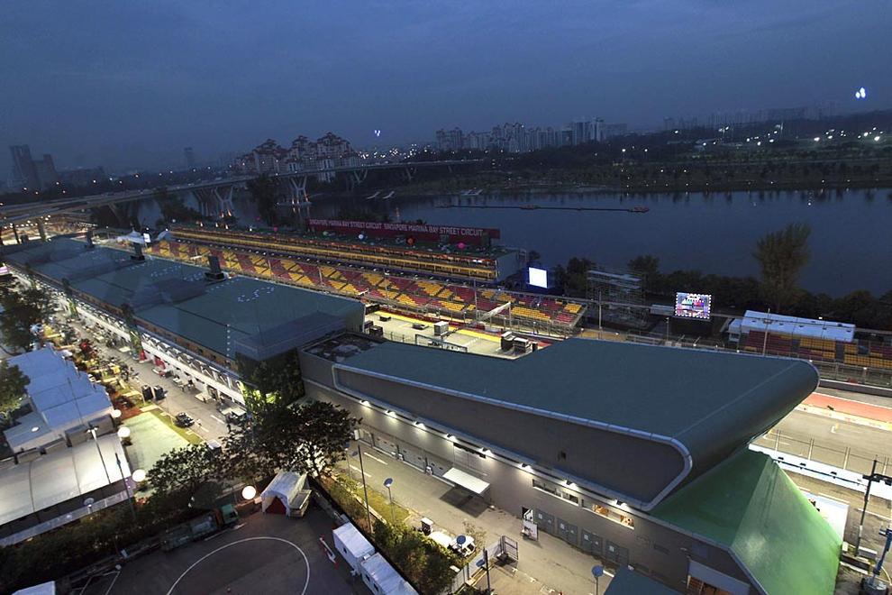 Circuito F1 Singapur : Galería circuito nocturno del gran premio de f de singapur
