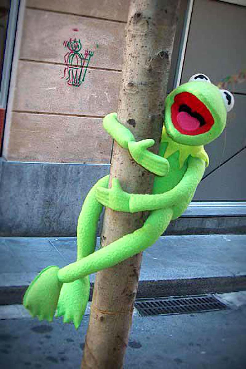 La rana Gustavo y la cerdita Peggy presentan Los Muppets en