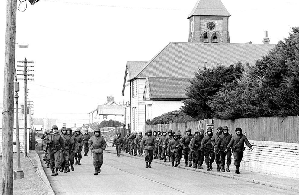 La guerra de las Malvinas de 1982 (1/12) - Imágenes de La guerra de las Malvinas, que tuvo lugar en abril de 1982 - Internacional -