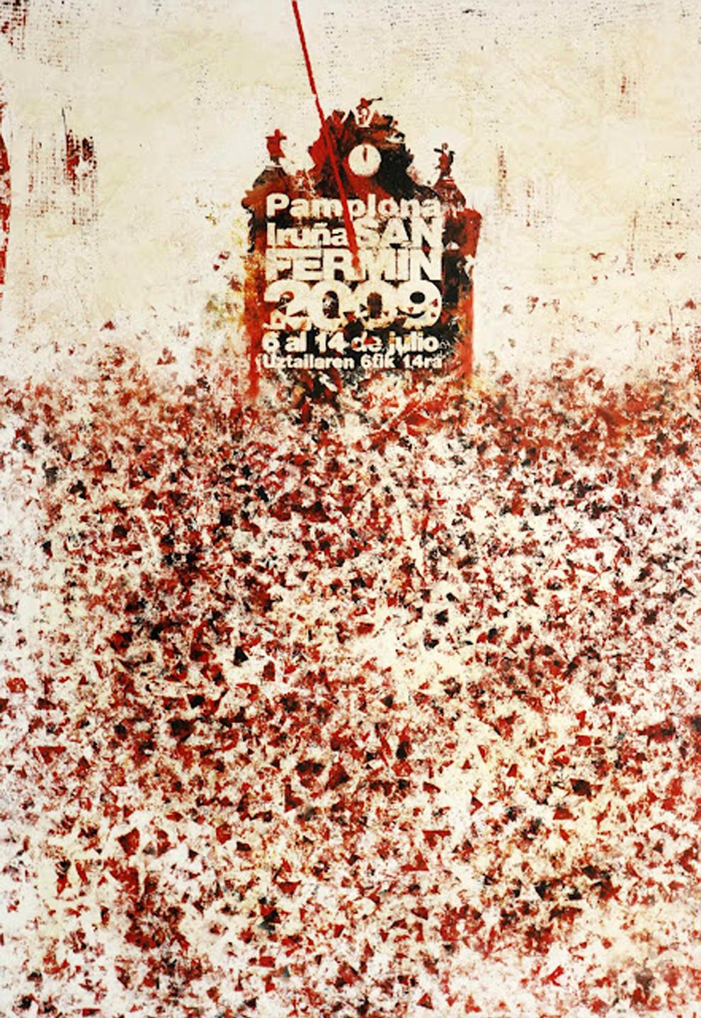 Cartel se San Fermín 2009