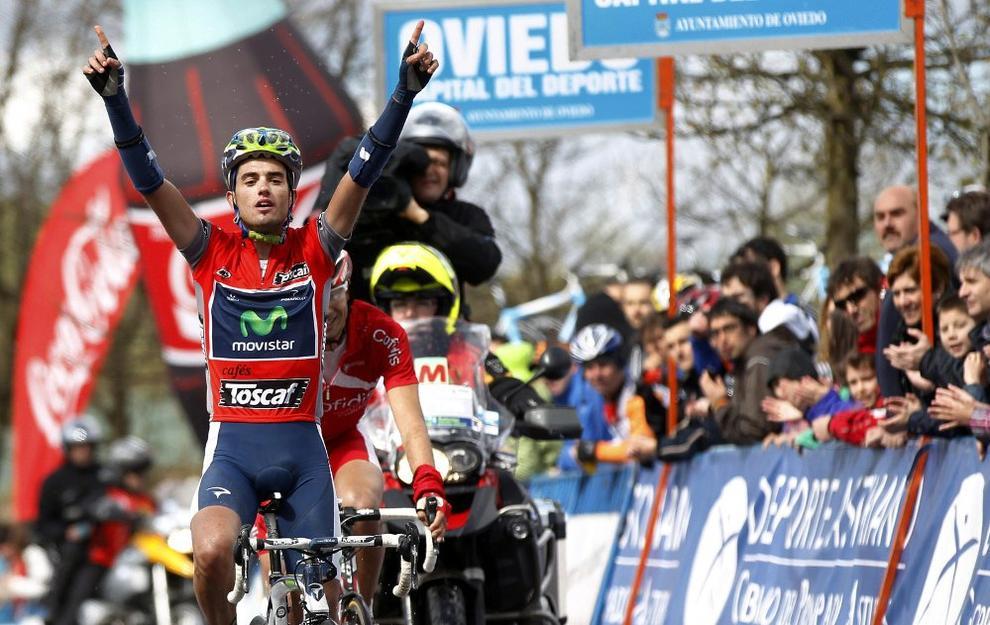 Beñat Intxausti, del Movistar Team, se impone en la Vuelta a