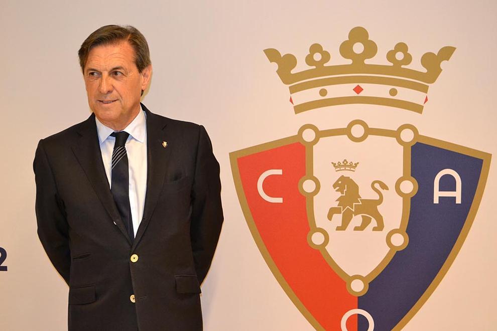 Detienen al expresidente de Osasuna por la compra de partidos