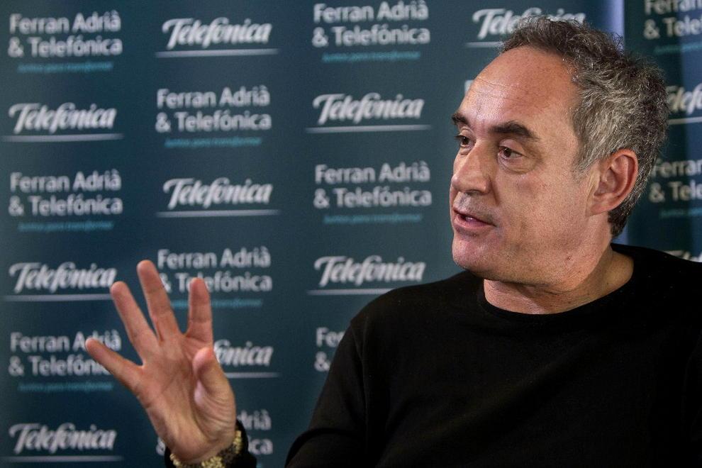 Ferran adri ofrecer un curso de cocina por internet for Cursos de cocina gratis por internet