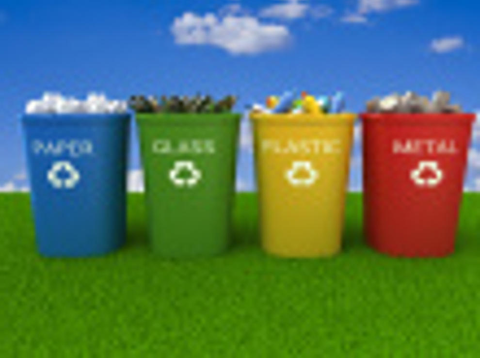 Navarra lidera el reciclaje de envases en contenedor amarillo y azul noticias de medio - Contenedores de basura para reciclaje ...