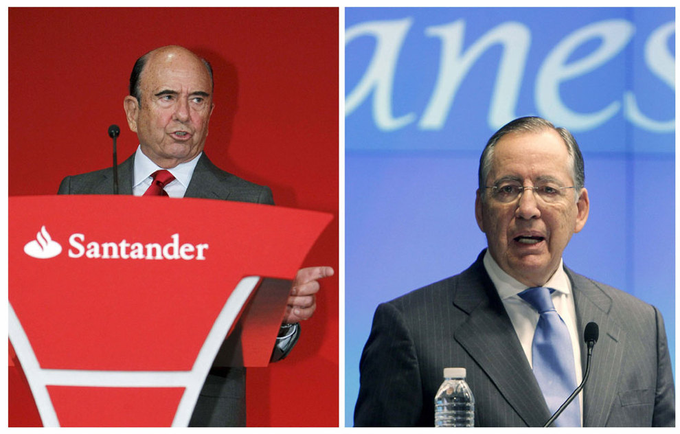 Santander cerrar 700 sucursales tras la integraci n de for Oficinas de banesto