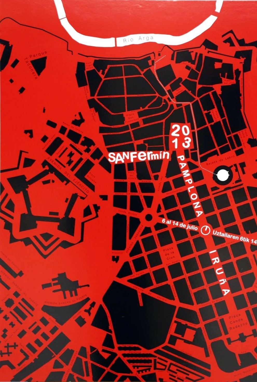 Los carteles de San Fermín
