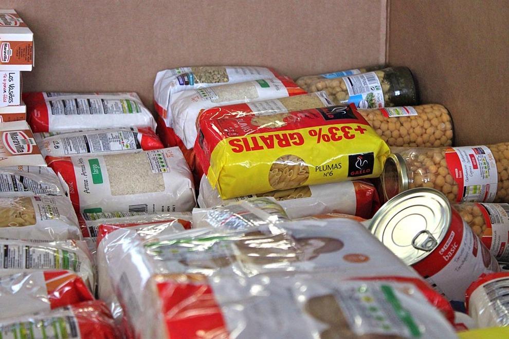 El banco de alimentos busca recoger 10 millones de kilos en dos d as noticias de sociedad en - Banco de alimentos de navarra ...