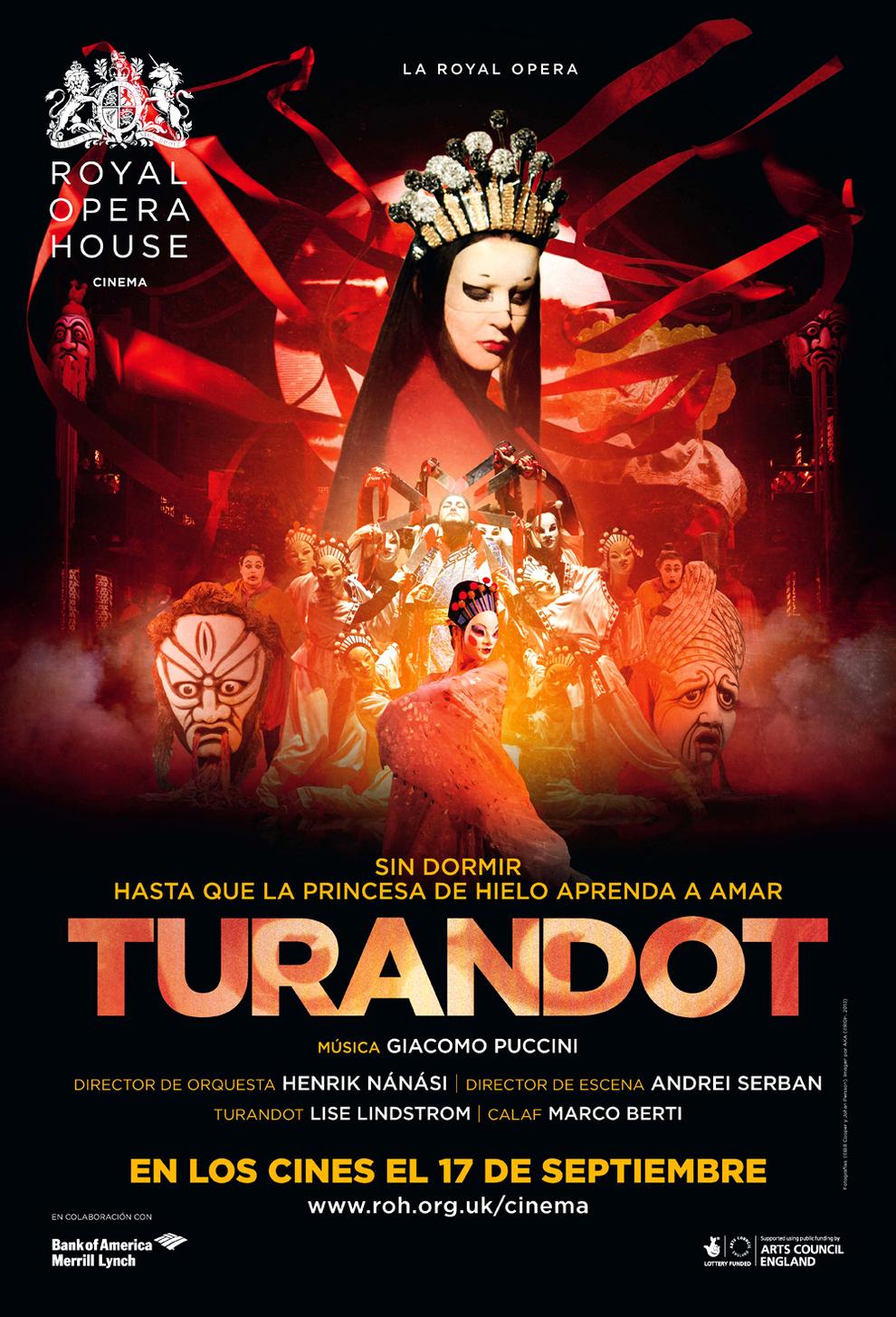 Resultado de imagen de la opera de turandot