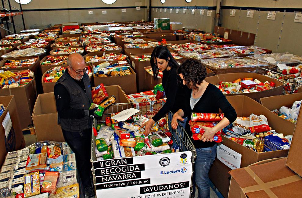El banco de alimentos necesita voluntarios para la gran recogida noticias de navarra - Banco de alimentos de navarra ...
