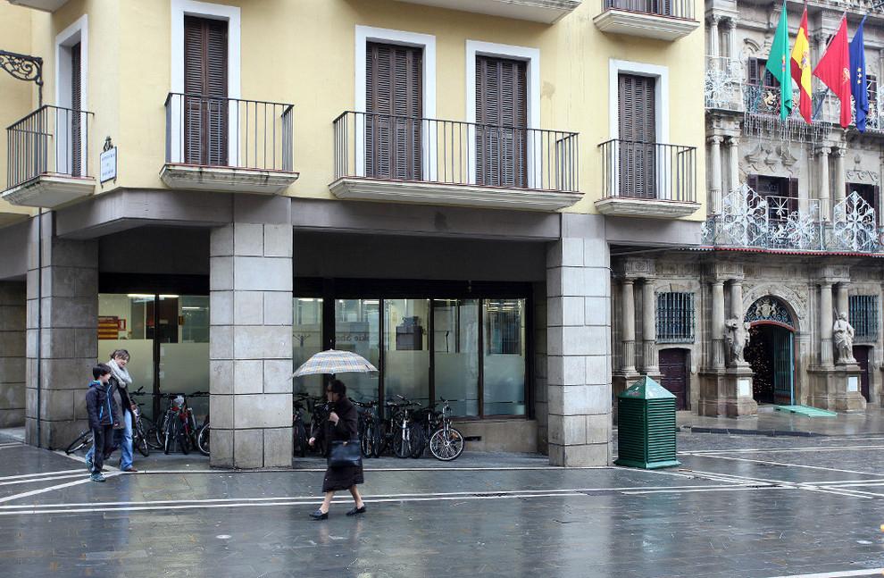 El psn solicita que la futura oficina de turismo d un for Oficina turismo pamplona