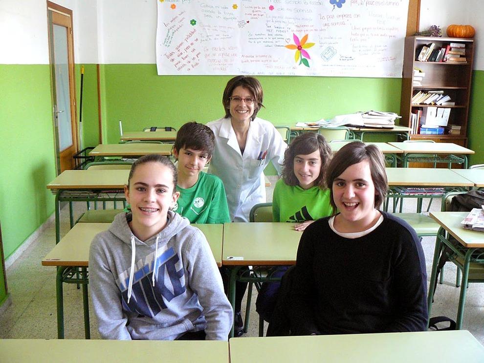 Trabajo conjunto en el recreo noticias de navarra en for Concurso para profesores