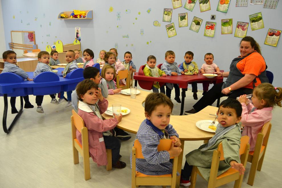 La oferta de plazas de 0 3 a os no es absorbida por la for Comedor de escuela