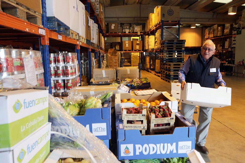 La pobreza energ tica condiciona los productos para el banco de alimentos noticias de navarra - Banco de alimentos de navarra ...