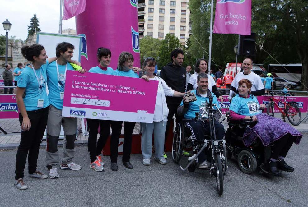 I Carrera Solidaria Grupo de Enfermedades Raras de Navarra (1/7) - I Carrera Solidaria Grupo de Enfermedades Raras de Navarra - Fotos DNRunning -