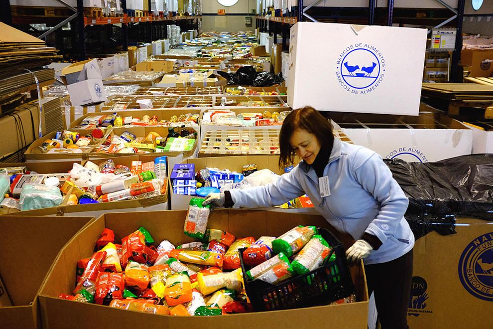 Comienza una nueva colecta solidaria del banco de alimentos de navarra - Banco de alimentos de navarra ...