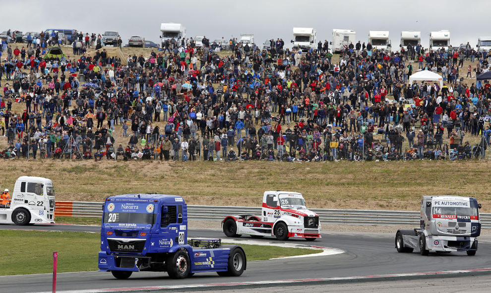 Circuito Los Arcos : Los camiones rugirán en el circuito de navarra este fin