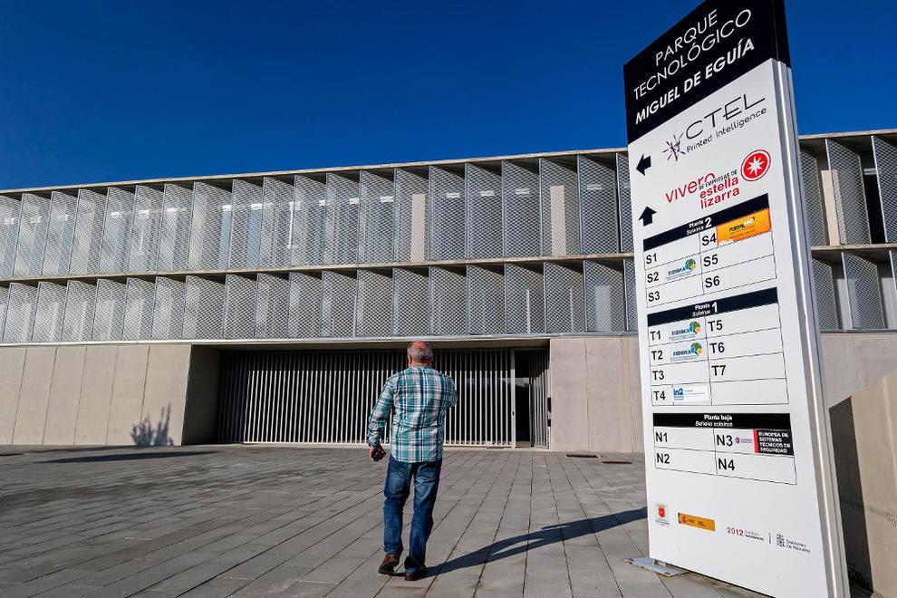 El vivero de empresas de estella resurge tras la salida de for Viveros en navarra
