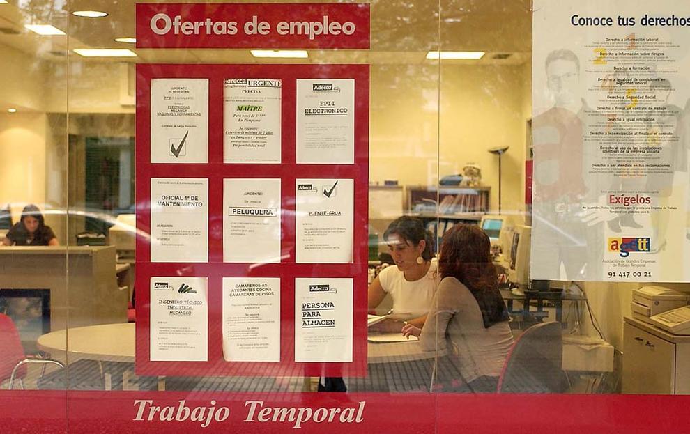 Economia Las Ett Colocan El Doble De Parados Que El Inem Pero