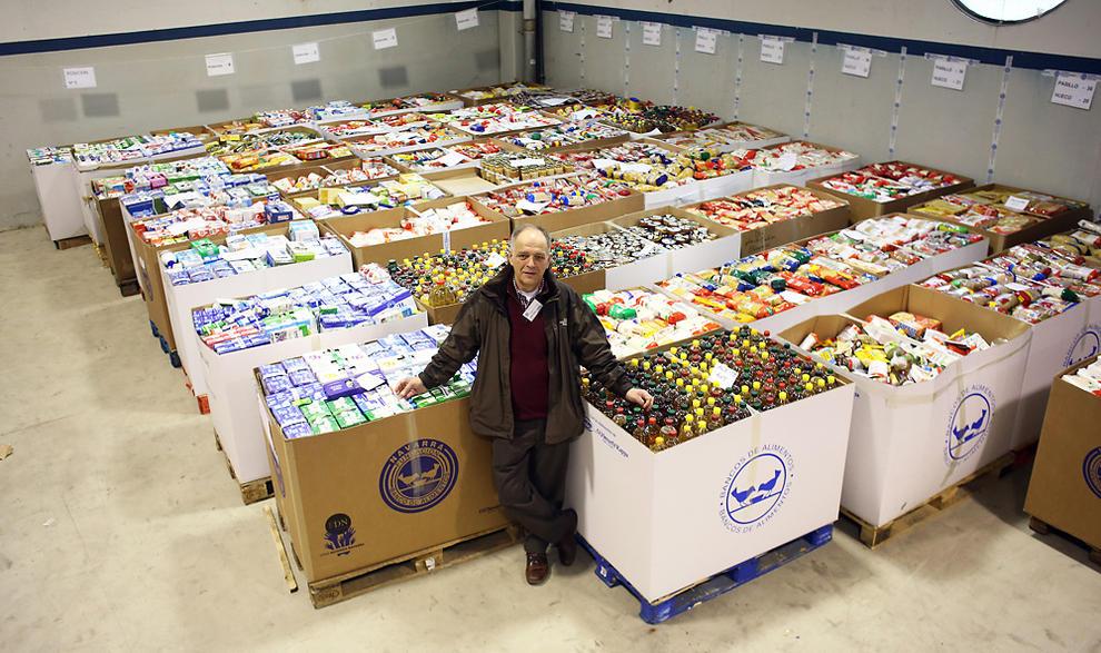Navarra el banco de alimentos pide al gobierno de navarra una subvenci n de euros - Banco de alimentos de navarra ...