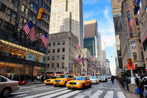 la 5 avenida de nueva york la calle m s cara del mundo noticias de sociedad en diario de navarra. Black Bedroom Furniture Sets. Home Design Ideas
