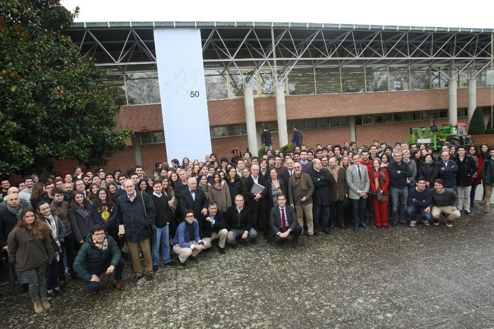 La escuela de arquitectura inicia los actos de su 50 for Escuela arquitectura
