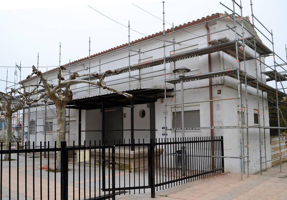 Finaliza la primera fase de las obras del albergue de Los Arcos