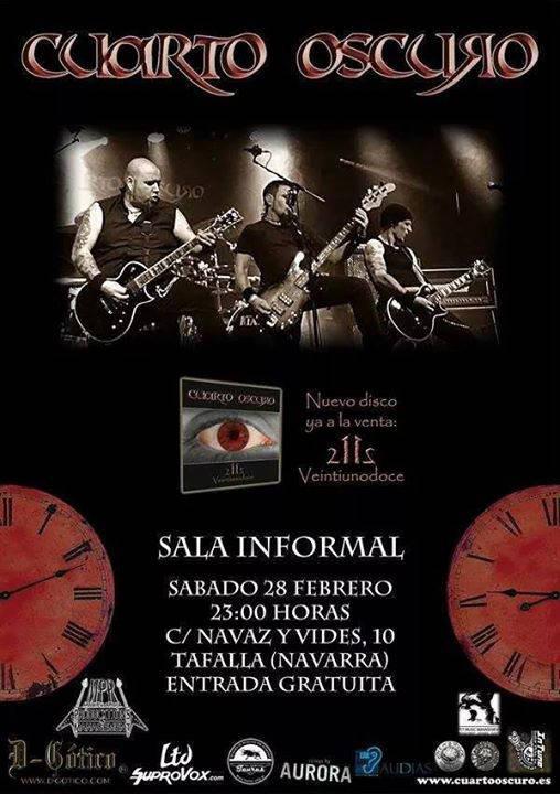 El cuarto oscuro en Tafalla y flamenco en Alsasua   Noticias de ...