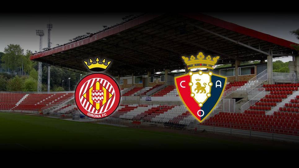 El Girona-Osasuna tendrá que volver a repetirse