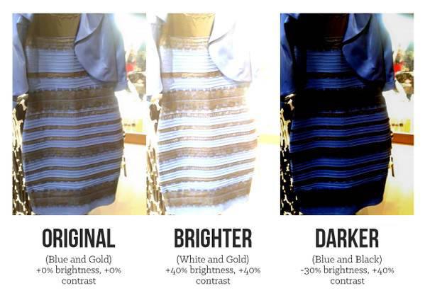 Vestido azul y negro de que color es