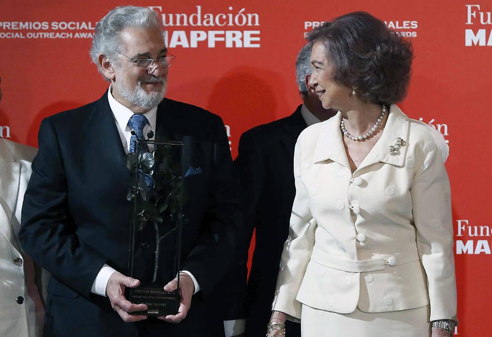 Королева София вручила награды Фонда MAPFRE